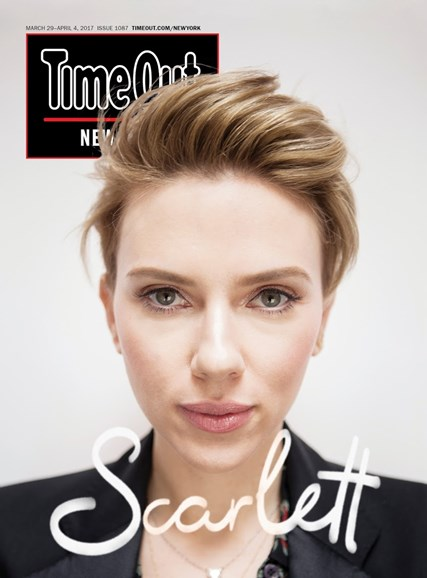 Time Out New York Cover - 3/29/2017