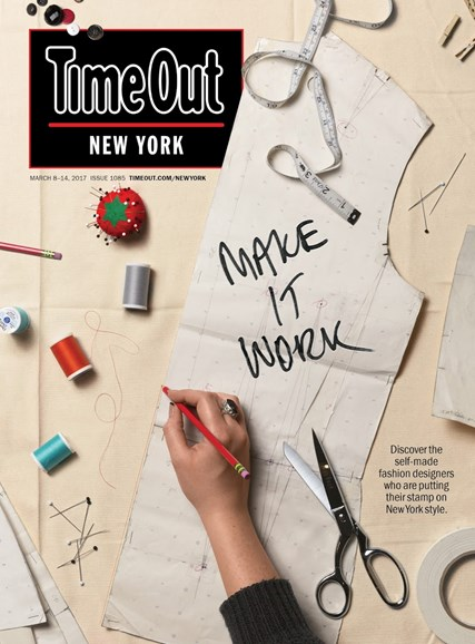 Time Out New York Cover - 3/8/2017