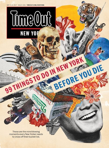 Time Out New York Cover - 5/3/2017