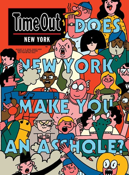 Time Out New York Cover - 8/3/2016