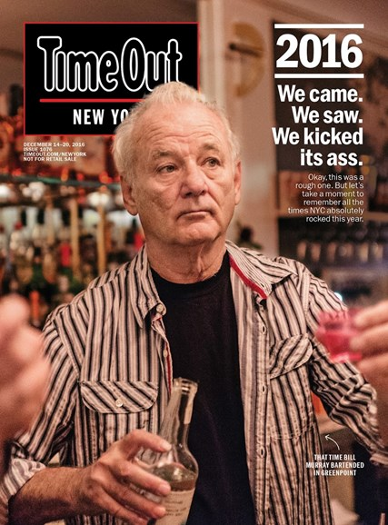 Time Out New York Cover - 12/14/2016