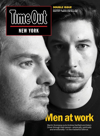 Time Out New York Cover - 12/21/2016