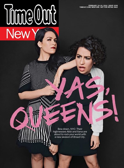 Time Out New York Cover - 2/10/2016