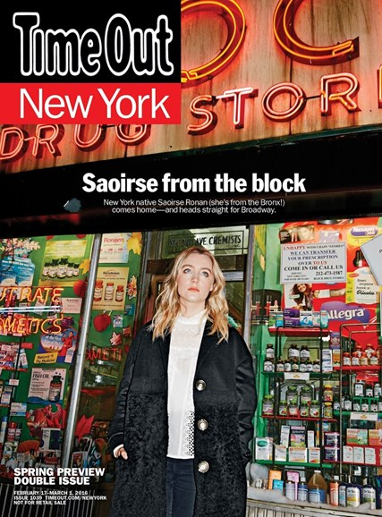Time Out New York Cover - 2/17/2016