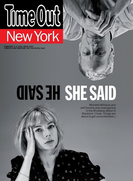 Time Out New York Cover - 2/3/2016