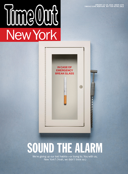 Time Out New York Cover - 1/13/2016