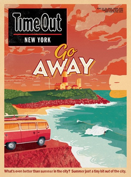 Time Out New York Cover - 6/15/2016