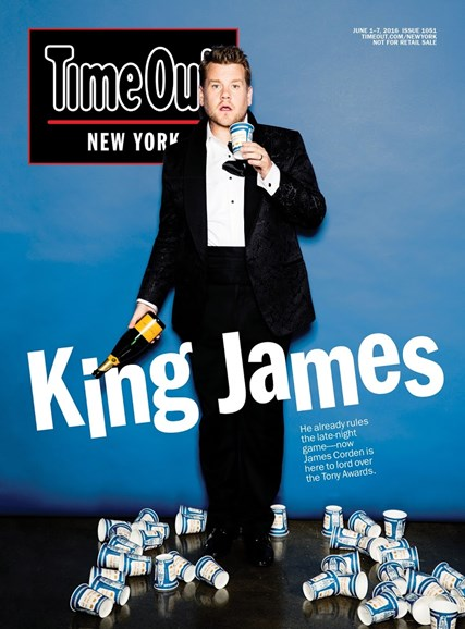 Time Out New York Cover - 6/1/2016