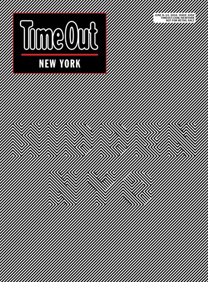 Time Out New York Cover - 6/8/2016