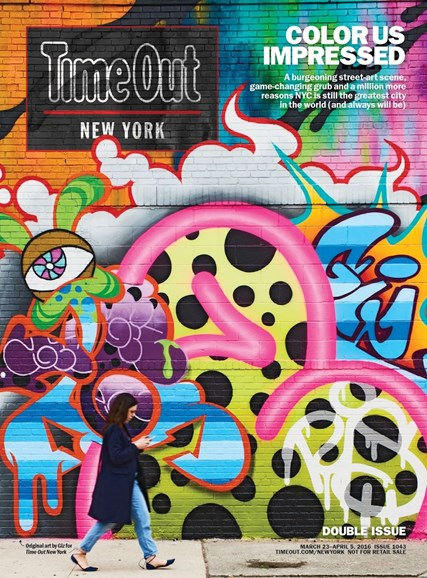 Time Out New York Cover - 3/23/2016