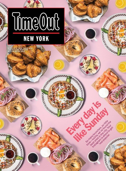 Time Out New York Cover - 3/2/2016