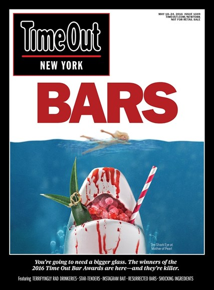 Time Out New York Cover - 5/18/2016