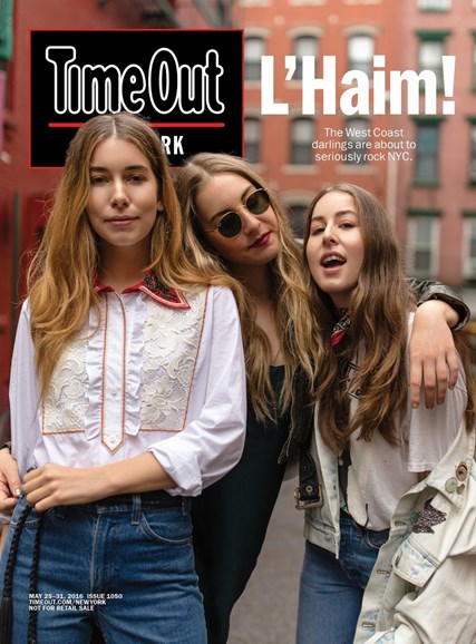 Time Out New York Cover - 5/25/2016