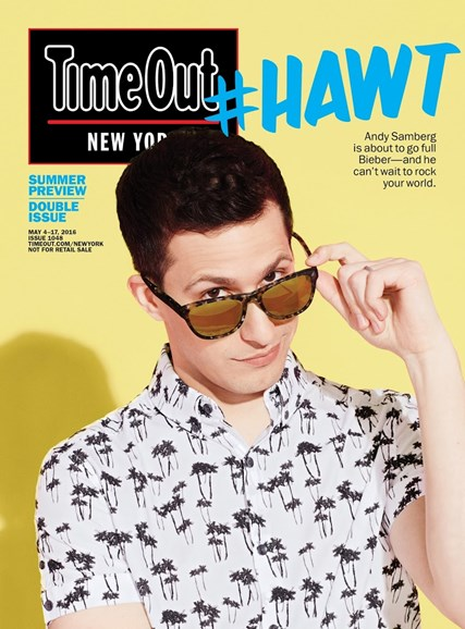 Time Out New York Cover - 5/4/2016