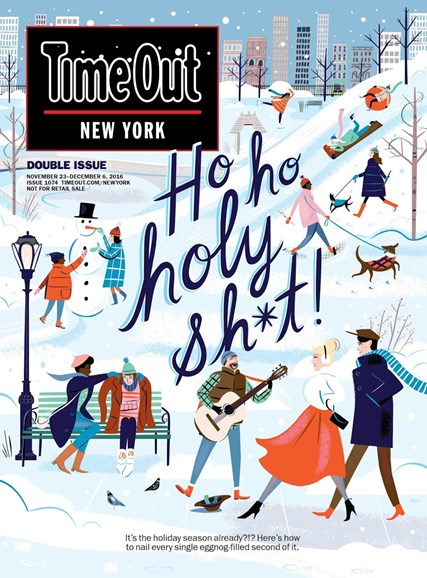 Time Out New York Cover - 11/23/2016