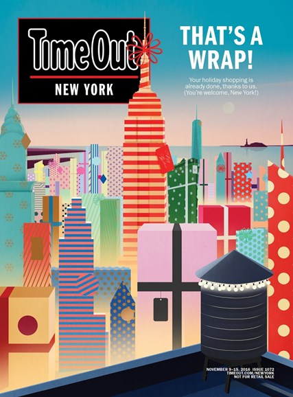 Time Out New York Cover - 11/9/2016