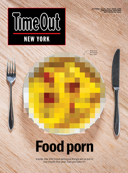 Time Out New York Cover - 10/12/2016