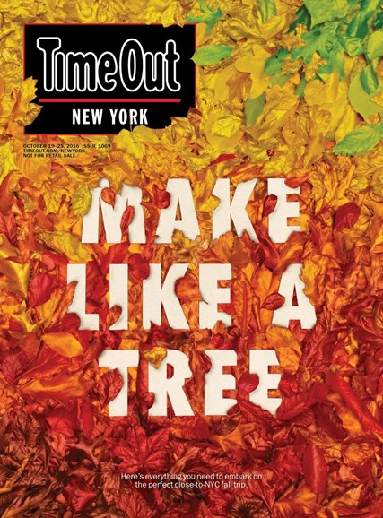 Time Out New York Cover - 10/19/2016