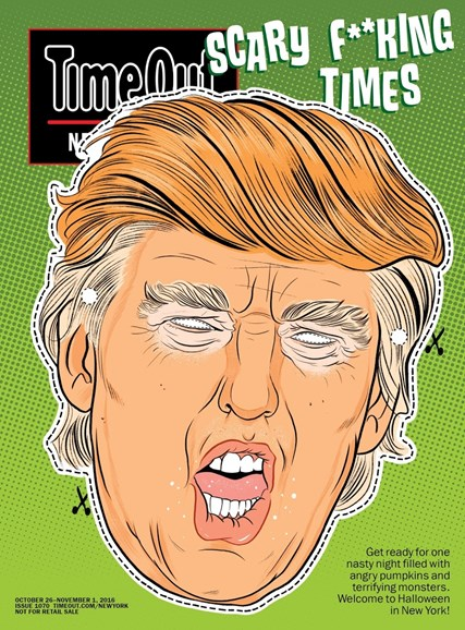 Time Out New York Cover - 10/26/2016