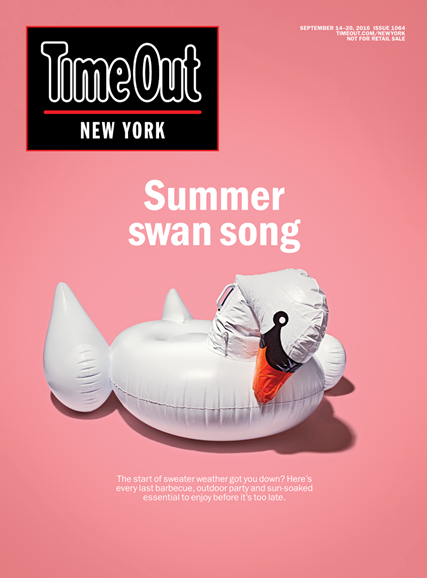 Time Out New York Cover - 9/14/2016