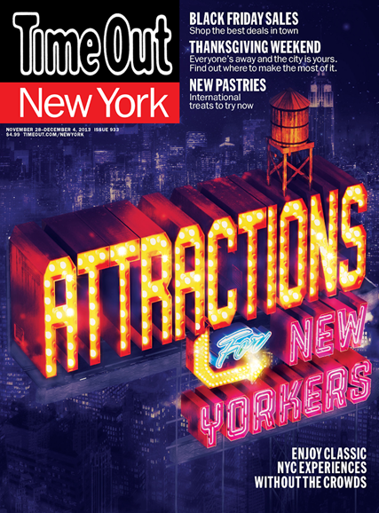 Time Out New York Cover - 11/28/2013