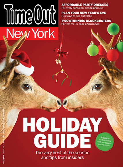 Time Out New York Cover - 12/12/2013