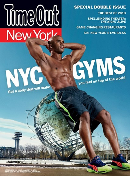 Time Out New York Cover - 12/26/2013