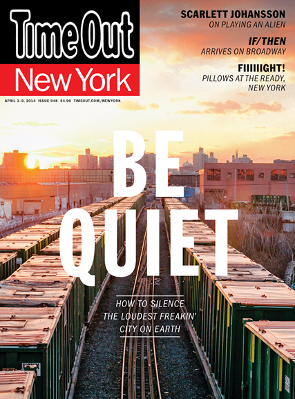 Time Out New York Cover - 4/3/2014
