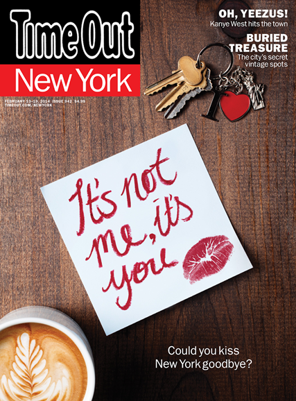 Time Out New York Cover - 2/13/2014