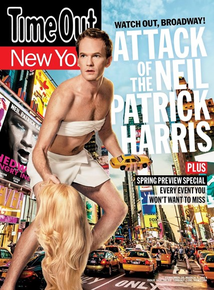 Time Out New York Cover - 2/20/2014