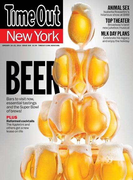 Time Out New York Cover - 1/16/2014