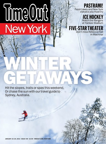 Time Out New York Cover - 1/23/2014