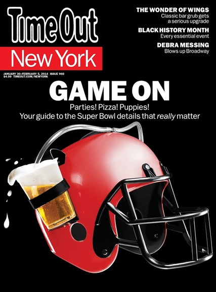 Time Out New York Cover - 1/30/2014