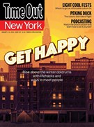 Time Out New York Magazine 1/9/2014
