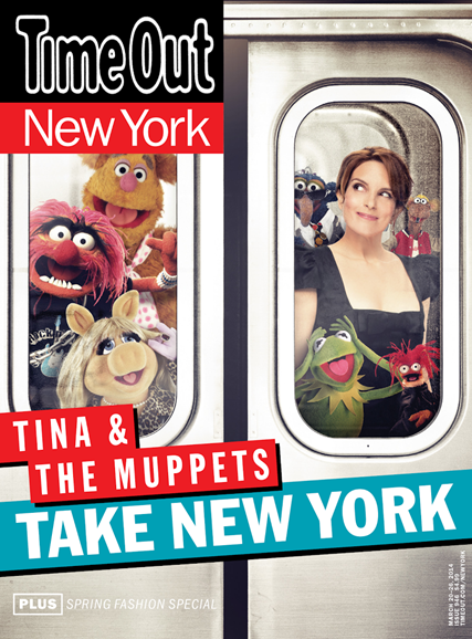 Time Out New York Cover - 3/20/2014
