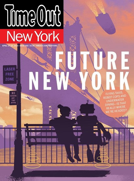 Time Out New York Cover - 4/17/2014