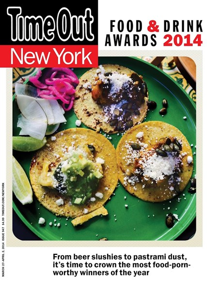 Time Out New York Cover - 3/27/2014