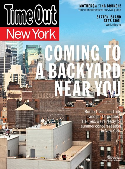 Time Out New York Cover - 5/15/2014