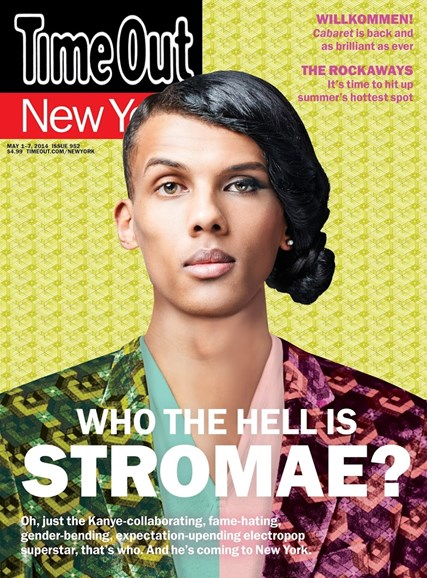 Time Out New York Cover - 5/1/2014