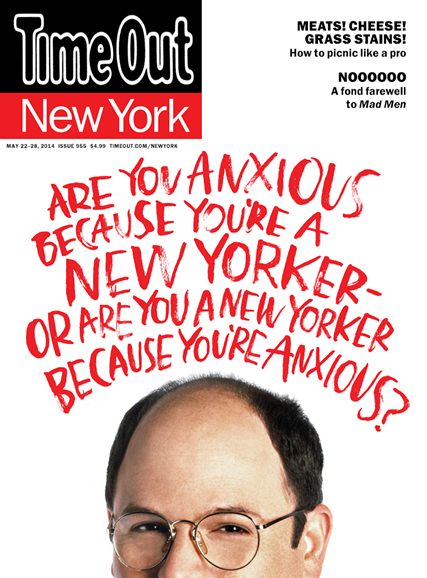 Time Out New York Cover - 5/22/2014