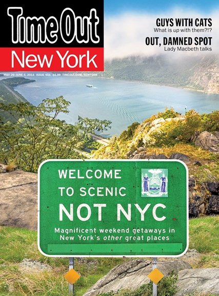Time Out New York Cover - 5/29/2014