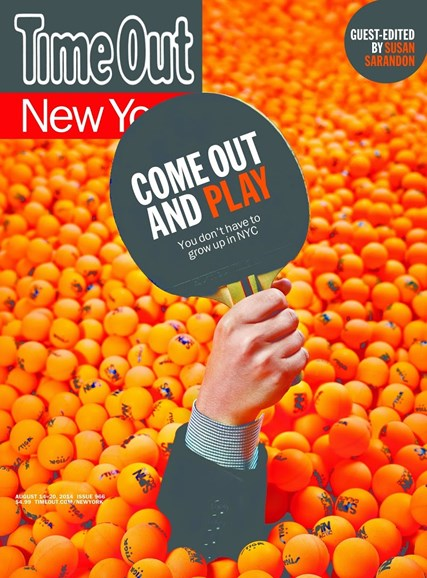 Time Out New York Cover - 8/14/2014