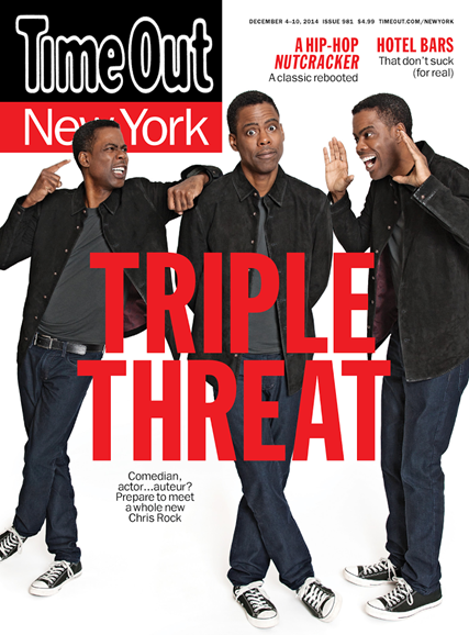 Time Out New York Cover - 12/4/2014