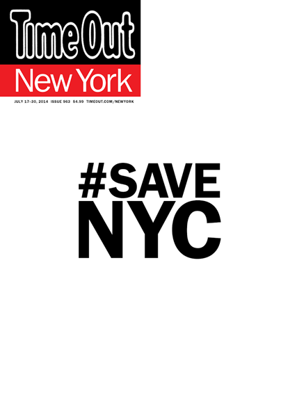 Time Out New York Cover - 7/17/2014