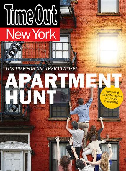 Time Out New York Cover - 6/12/2014