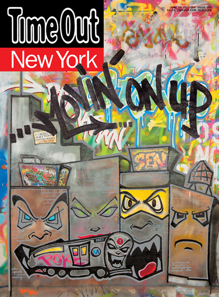 Time Out New York Cover - 6/19/2014