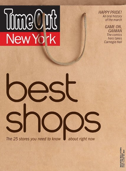 Time Out New York Cover - 6/26/2014