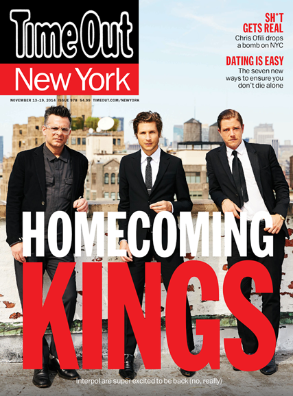 Time Out New York Cover - 11/13/2014