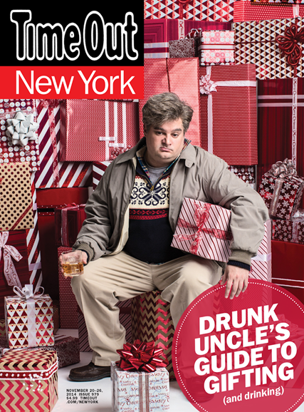 Time Out New York Cover - 11/20/2014
