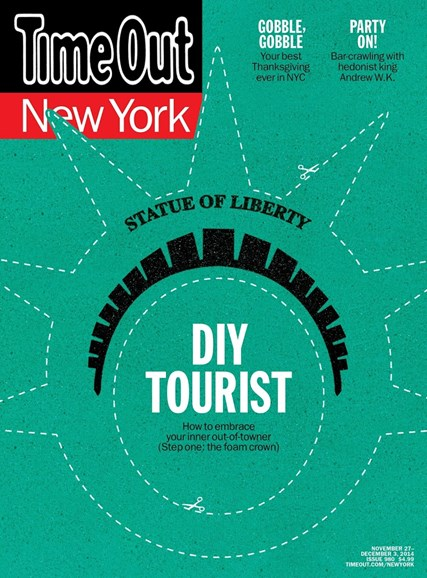 Time Out New York Cover - 11/27/2014